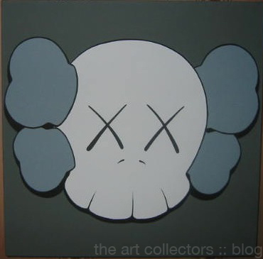 kaws canvas