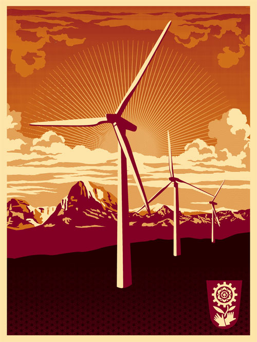 shepard-fairey-obey-windmill-green-energy-initiative