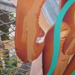 Jeff Koons detail (Gagosian)